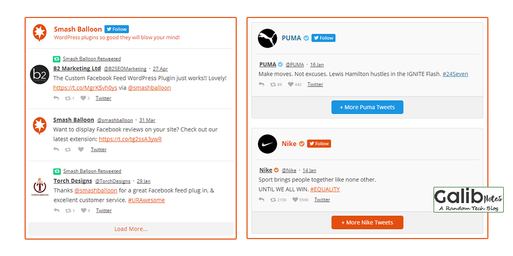Best Plugin For Blogging Custom Twitter Feeds