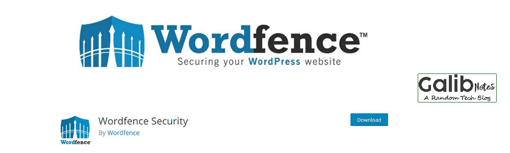 Best Plugin For Blogging WordFence Security