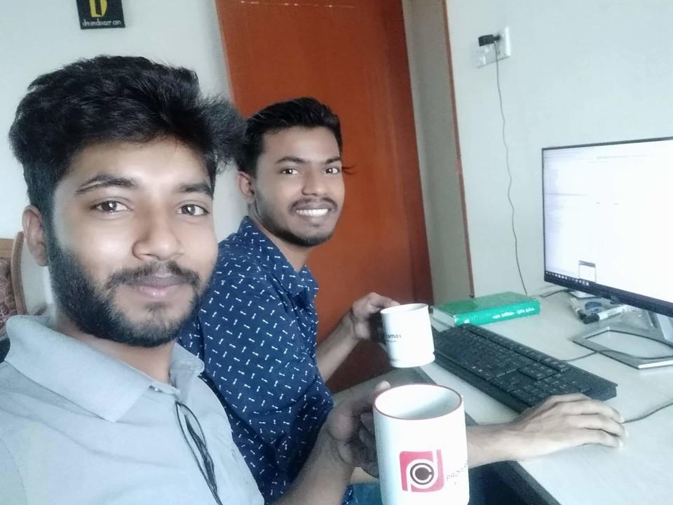 Asadullah Galib and Rasha Ruzzaman Rana is working at Shotez. Life Office